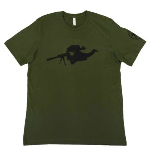 STEADY EDDIE RIFLEMAN Unisex T-Shirt FRONT