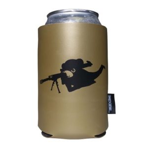 STEADY EDDIE RIFLEMAN KOOZIE VIEW #!